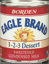 Eagle Brand SHAPED COOKBOOK New DESSERT Treats EASY Condensed Milk RECIPES Pies