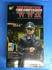 "Dragon Cyber Hobby 1/6 scale 12"" WWII German Senior Staff Officer Oberst Max"