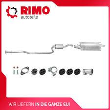 95-98 Mazda 121 96 Endschalldämpfer Ford Fiesta 1.25 1.3 kat Auspuff