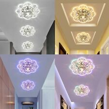 Modern Crystal Chandelier Ceiling Light Fixture Aisle Hallway Pendant Lamp Decor