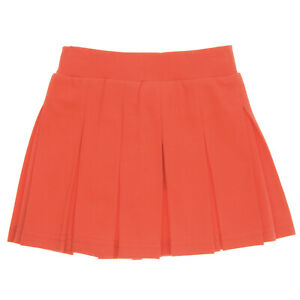 Red Pleated Skirt for Girls | 2 3 4 5 6 7 Years | 100% Cotton