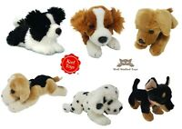 Keel Plush Dogs Dalmatian Spaniel Lab Collie Doberman Beagle Plush Toy Puppy