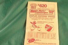 Kadee Ho #620 Centering Spring for Nem 362 couplers