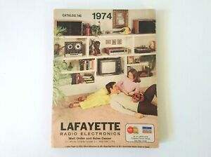 Lafayette Radio Electronics Catalogue 1974 of Amplifiers Speakers Tvs and more