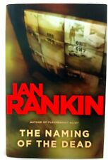 THE NAMING OF THE DEAD Ian Rankin AUTHOR-SIGNED Dust Jacket FIRST EDITION Mint