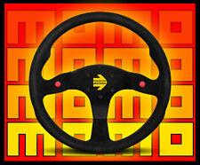 MOMO Model 80 Suede Steering Wheel     Black      FREE Priority Shipping