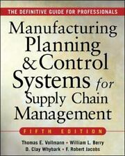 MANUFACTURING PLANNING AND CONTROL SYSTEMS FOR SUPPLY CHAIN MANAGEMENT : The Def