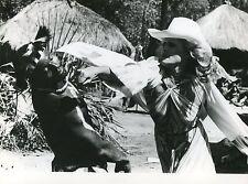 URSULA ANDRESS GIULIANO GEMMA SAFARI EXPRESS 1976 4 PHOTOS ORIGINAL LOT