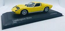 Minichamps  1/43 1966 Lamborghini Miura Yellow 1966 430103005