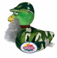 Duck Dynasty Plush Camouflage Duck with Beard Camo New With Tags NWT Ships Free!