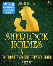 Sherlock Holmes: The Complete Series -12 discs  [Blu-ray]
