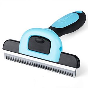 MIU COLOR Dog Deshedding Brush, Desheeding Tool for Large Dogs, Short Haired for