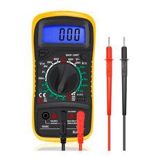 Digital LCD Multimeter mit Holster Messgerät Multifunktionstester Amperemeter