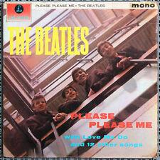 The Beatles – Please Please Me original 1963 UK black & gold mono LP Dick James
