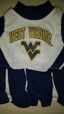 West Virginia Dog Cheerleader Dress - xs - Collegiate Official - NWT