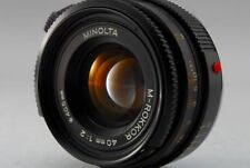 MINOLTA M ROKKOR 40mm f/2 MF Lens for Leica CL CLE (Excellent) from japan