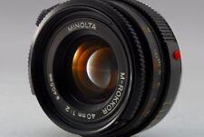 Minolta M Rokkor 40mm f/2 MF Objektiv für Leica CL CLE (excellent) aus Japan