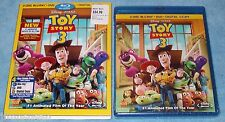 NEW R1 Disney*PIXAR's TOY STORY 3 (2010) 4 Disc Blu-Ray/DVD/DIGITAL Combo