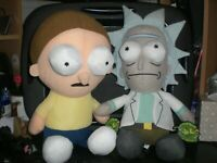 "Rick and Morty 18"" Plush Official License Toy Factory Stuffed Doll"