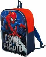 Marvel Spider-Man School Backpack Rucksack Kids Children Boys Girls Travel Bag