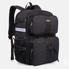"DSLR Camera Photo Backpack Divider insert Padding Bag 15"" Laptop Pack for Canon"