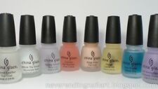 China Glaze Base/Top/Cuticle Oil/ Nail Treatments 0.5 fl oz *Pick Your*