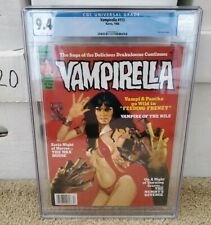 Vampirella 113 CGC 9.4 NM WHITE Pages Rare Final Issue