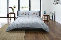 Stunning Printed Pheasant Design Duvet Cover Set Single Bed