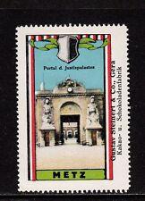 403078/ Reklamemarke - Schokoladenfabrik Steinert & Co. - Gera - Serie: Metz
