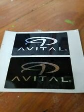 Avital car alarm security decal window decal set FREE SHIPPING