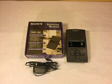 Sony Tam-100 All-Digital Answering Machine -Tested & Works Great-