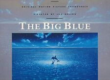 THE BIG BLUE disco LP OST Colonna sonora  ERIC SERRA LUC BESSON 1988 made in ITA