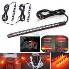 12V Motorcycle Bike LED Turn Signal Indicator Tail Brake Lamp w 2 Blinker Lights