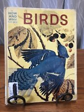 THE HOW AND WHY WONDER BOOK OF BIRDS 1960