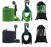 2019 Best Expandable Garden Hose Set with Hanger + Nozzle + Bag - 50ft 75 100ft