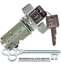 Jeep CJ7 Wrangler 85-90 Ignition key Switch Lock Cylinder Tumbler Barrel 2 Keys