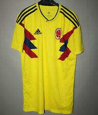 COLOMBIA NATIONAL TEAM 2018 2019 HOME FOOTBALL SHIRT JERSEY ADIDAS SIZE S