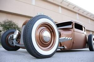 "18"" Wide Whitewalls Portawall Ford Chevy Mopar Hot Rod Rat Rod West Coast Style"
