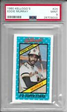 1980 Kellogg's EDDIE MURRAY Baltimore Orioles # 24 PSA 9 (MINT)