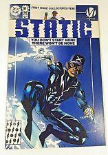 More details for static no 1 milestone comics  dwayne mcduffie. static shock. dc comics 1993