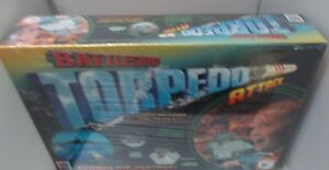MB Games Battleship Torpedo Attack Board Game 2 Players Family Fun NEW SEALED