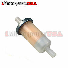 NEW INLINE FUEL FILTER FOR SUZUKI GSXR INTRUDER BOULEVARD KATANA VSTORM HAYABUSA