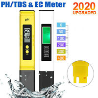 0.01 pH High Accuracy Water Quality Tester with 0-14 pH Measurement Range OQTO pH Meter and TDS Meter Combo 3 in 1 TDS EC Temperature Meter with Hold Function