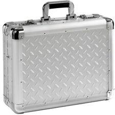 VALISE MALLETTE  en aluminium argent pour ordinateur portable 17 pouces XL