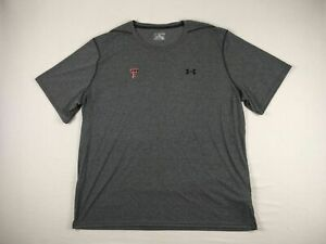 Texas Tech Red Raiders Under Armour Short Sleeve Shirt Men's NEW 4XL