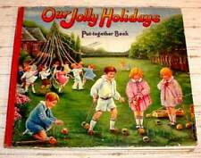 OUR JOLLY HOLIDAYS - Put-Together Book (1928)