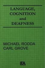 Language, Cognition, and Deafness (Communication Series)  (NoDust)