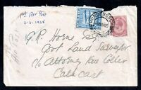 South Africa KGV 1925 First Airmail Cover Rondesbosch CDS (March 1925) WS18998