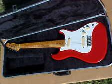 Vintage 1981 Red Fender USA Bullet With Original Case