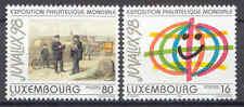 JUVALUX, Fahrrad, Kutsche, Postbote - Luxemburg - 1423-1424 ** MNH 1997